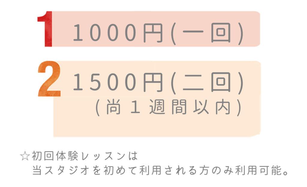 大牟田 ヨガ ヨガリムカ料金紹介コース